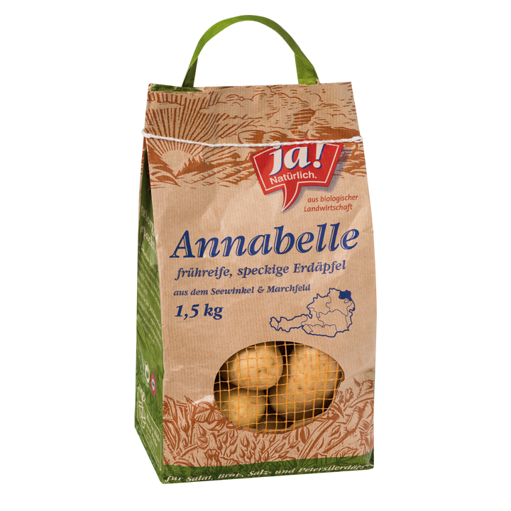 Bio-Erdäpfel Annabelle
