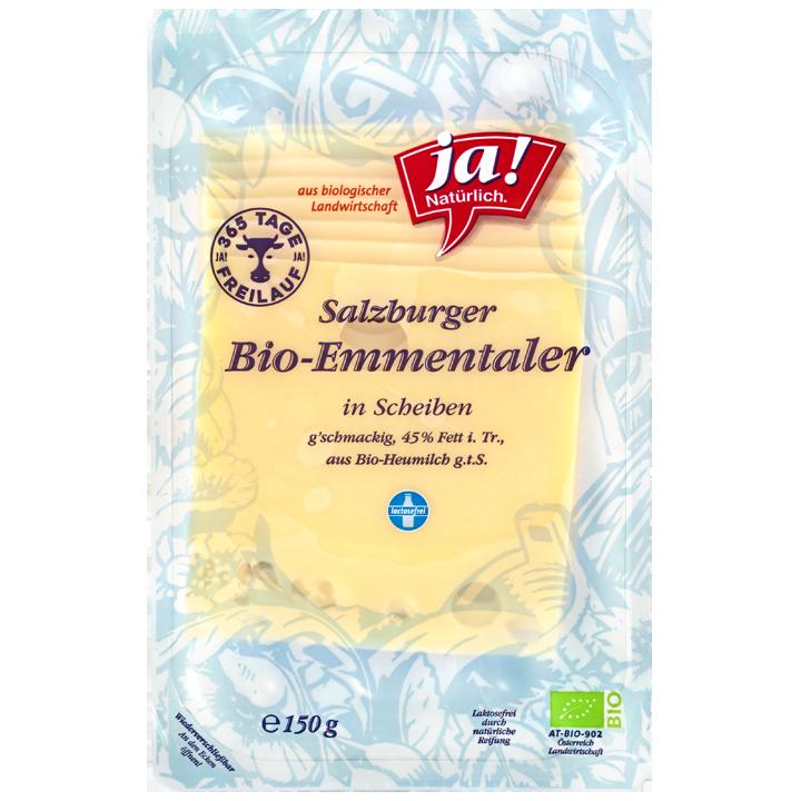 Bio-Heumilch-Emmentaler Scheiben