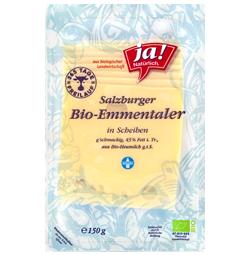 Bio-Emmentaler Scheiben 150 g