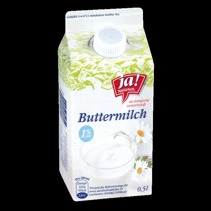 Buttermilch Natur 0.5lt