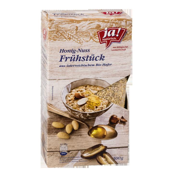Bio-Honig Nuss Frühstück