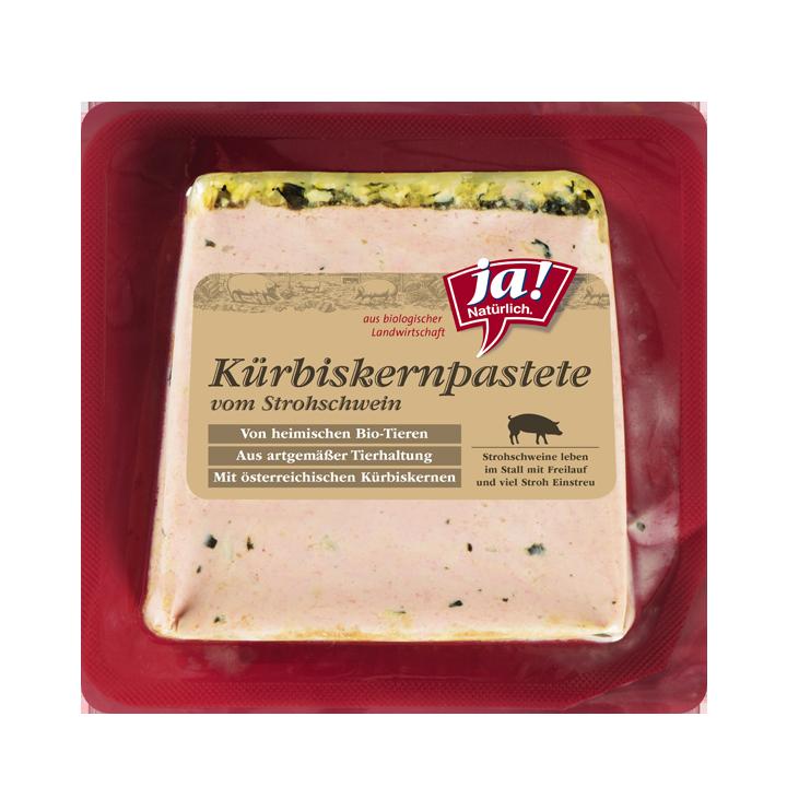 Bio-Kürbiskernpastete vom Strohschwein