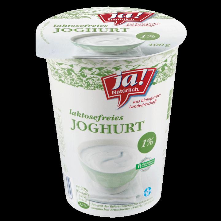 Laktosefreies Bio-Joghurt