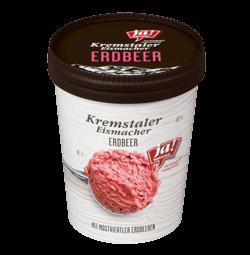 Kremstaler Eismacher Erdbeer Eis 500 ML