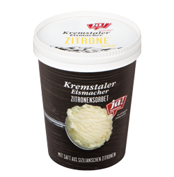 Kremstaler Eismacher Zitronen Sorbet 500 ml