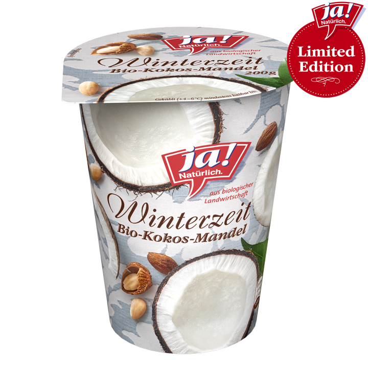Fruchtjoghurt 3.6% Winterzauber Kokos Mandel 200g