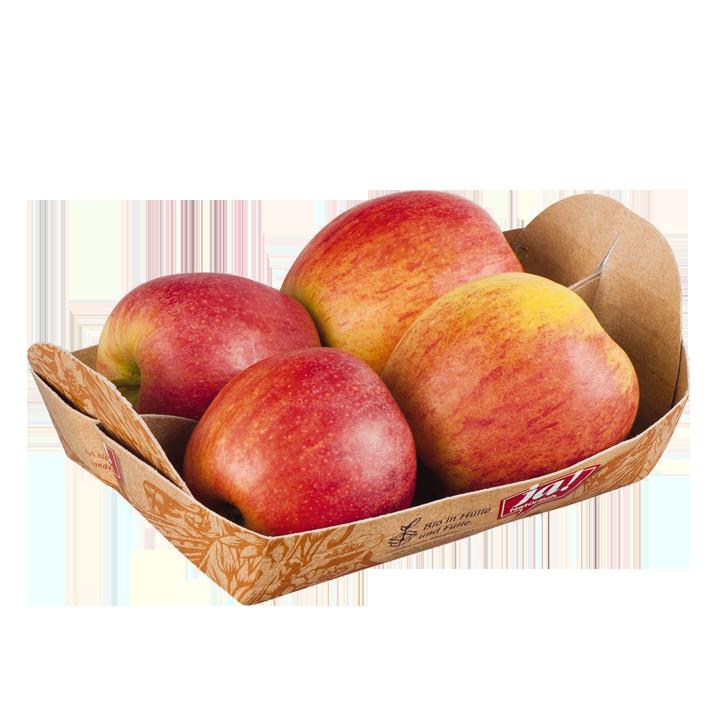 Bio-Äpfel rot Tasse