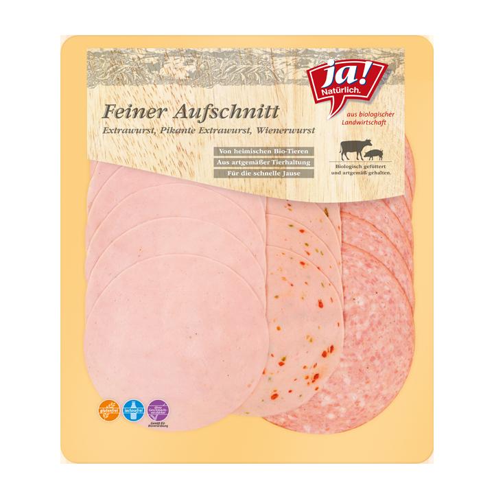 Bio-Aufschnitt - Extrawurst, Pikantwurst, Wiener