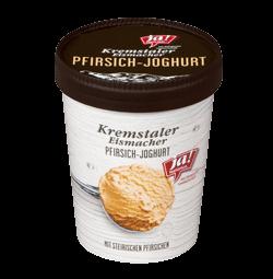 Kremstaler Eismacher Pfirsich-Joghurt Eis 500 Ml
