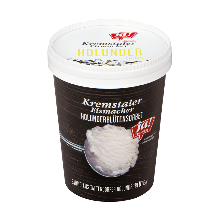 Kremstaler Eismacher Holunderblütensorbet 500 Ml