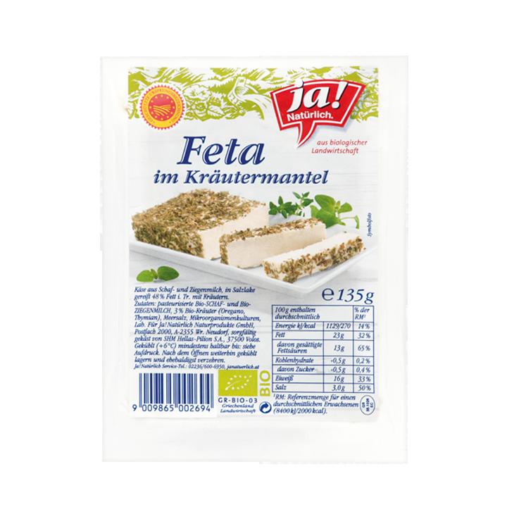 Feta Mit Kräutern 135g