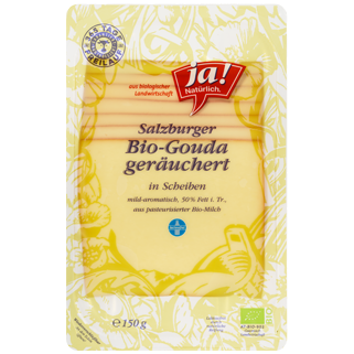 Heumilch Gouda Scheiben Geräuchert 50% F.I.T. 150g