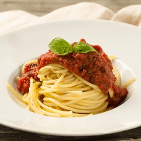 Spaghetti mit Paradeisersauce