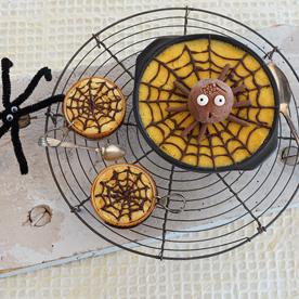 Bio-Grießauflauf mit Spinneneis
