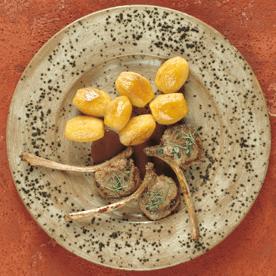 Knoblauch-Lammkoteletts