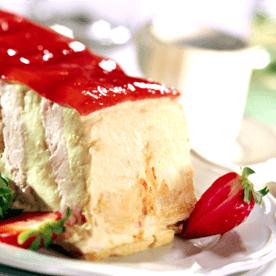 Erdbeer-Karamel Torte