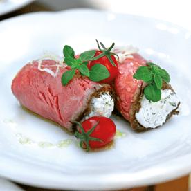 Roastbeefröllchen mit Krengervais