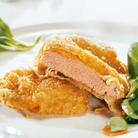Gebackene Lammschnitzel nach Wiener Art