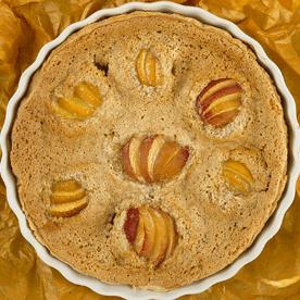Marillen-Mandel-Torte