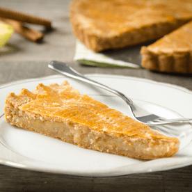 Topfenteig-Apfelkuchen