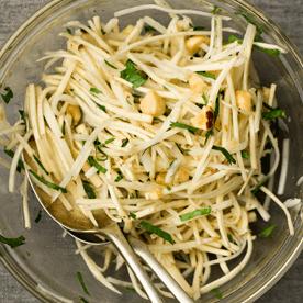 Topinambur-Pastinaken-Salat