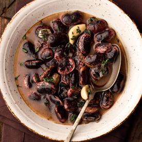 Käferbohnensuppe