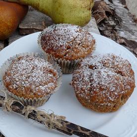 Haselnuss-Karotten-Muffins