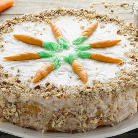 Karotten-Haselnusstorte