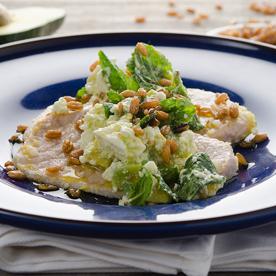 Tafelspitz vom Vollmilch-Kalb mit Avocado-Feta-Salat (glutenfrei)