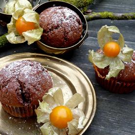 Physalis-Schoko-Muffins